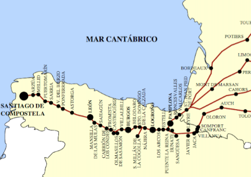 Route of the Camino