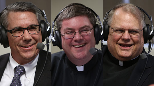 Papal resignation, Lent, and Catholic radio