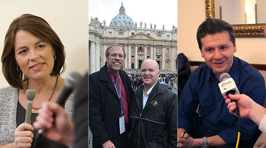 LIVE from Rome: Catholic Voices USA, Our Sunday Visitor, and a Boston Catholic in the Vatican Museums
