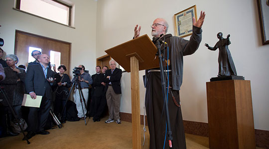 LIVE From Rome: Cardinal Seán's first press conference after the conclave