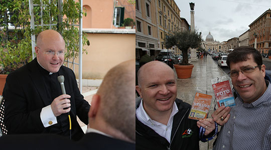 LIVE from Rome: Reflecting on the experience and on Pope Francis