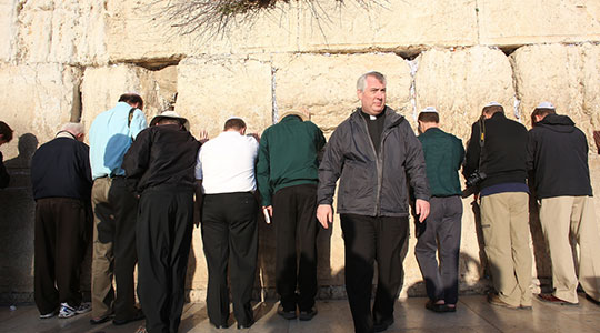 Fr. Mark's reflections on the Holy Land