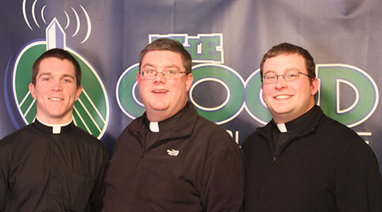 Two of Boston Newest Priests: Fr. Chris Wallace and Fr. Eric Bennett