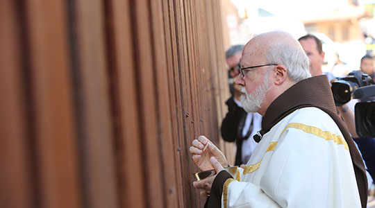 Mass on the Border with Cardinal Seán in Nogales, Arizona
