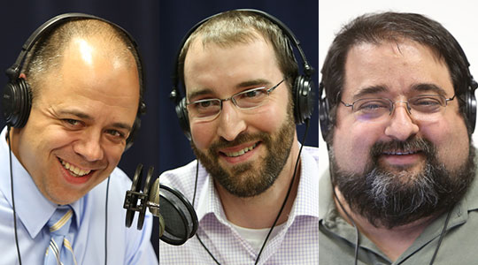 Three Catholic Dads of Young Families